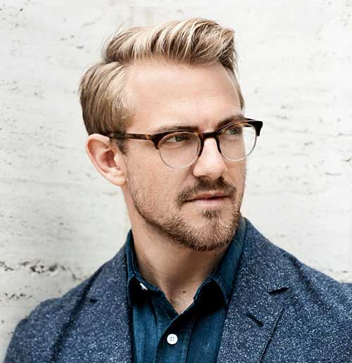 Hairstyles For Guys With Short Blonde Hair  Easy Casual