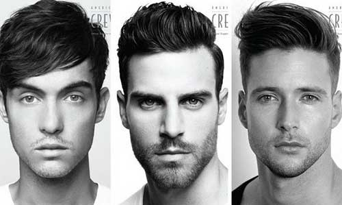 Short Cuts Men Hair Styles for Long Face