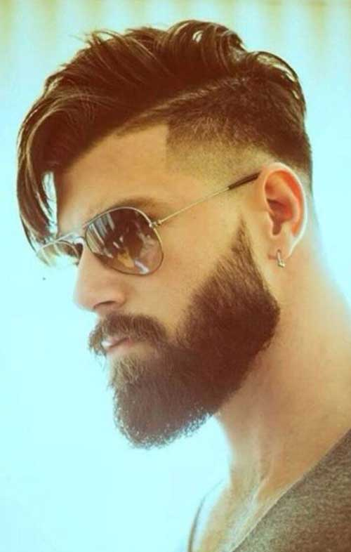 Short Side Long Top Hair Styles for Men