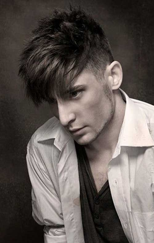 Short Trendy Fade Cut Layered Hair For Men