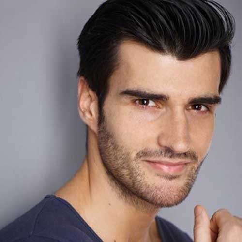 Simple Thick Hairstyles Ideas for Guys
