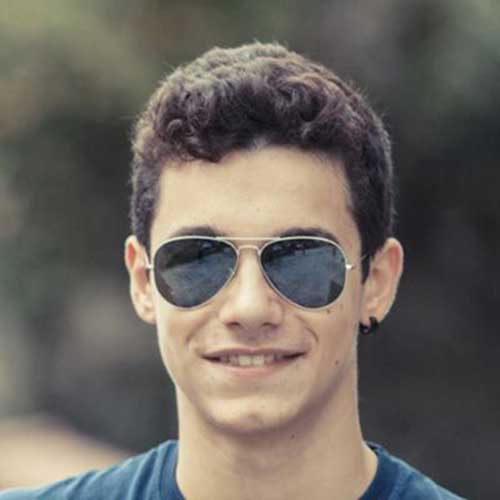 Soft Curly Men Hairstyles 2014-2015