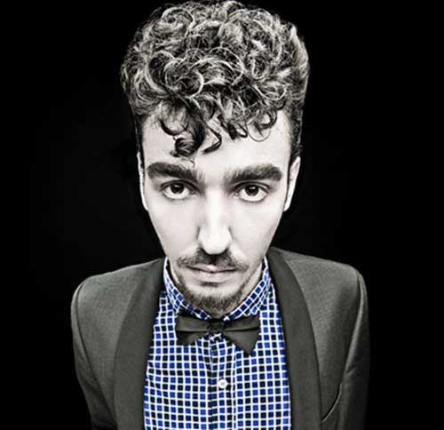 Stylish Curly Men Hairstyles 2014