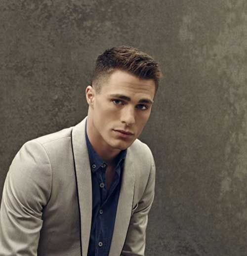 Stylish male haircuts