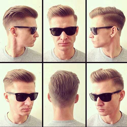 Stylish Modern Male Haircut