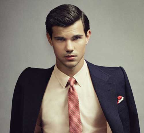 Taylor Lautner Classy Hairstyles