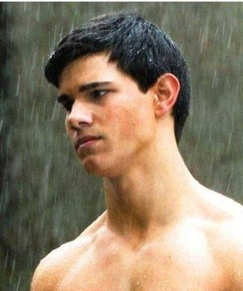 Taylor Lautner Short Casual Hairstyles