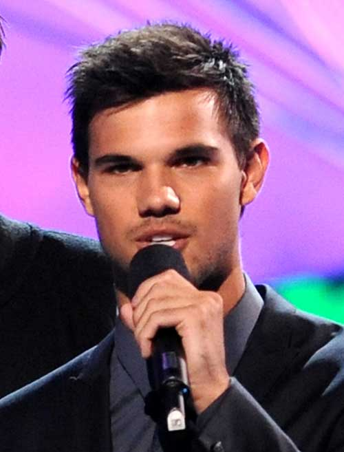 Taylor Lautner Short Coolest Hairstyles