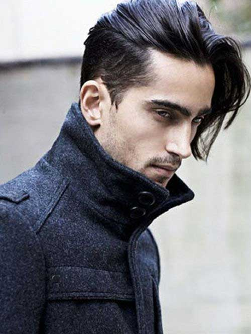 Thick Medium Hairstyles for Guys
