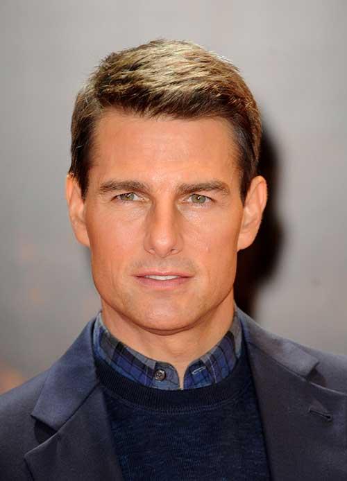 Tom Cruise Classy Short Hairstyles