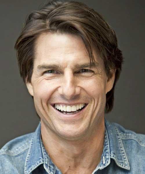 Tom Cruise Cute Short Hairstyles