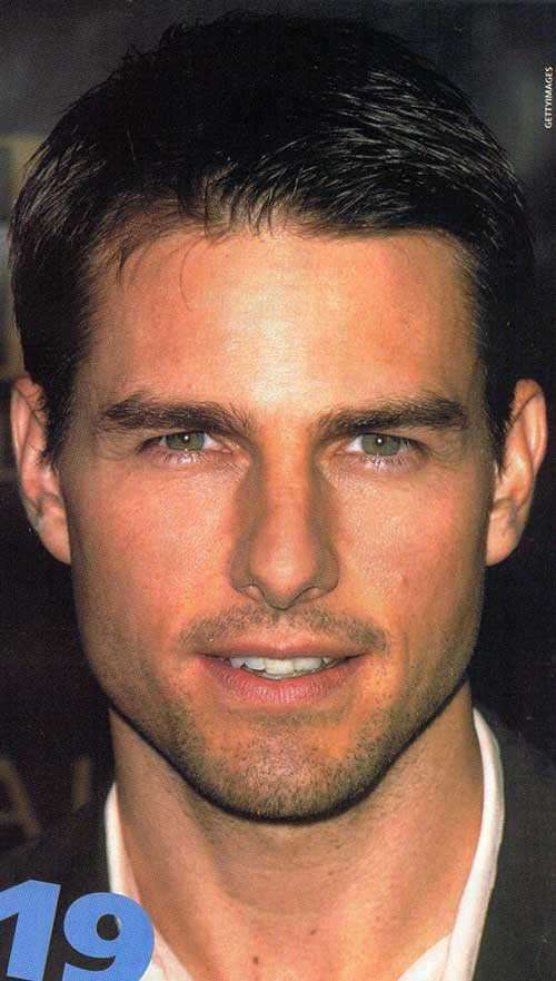 Tom Cruise Short Cut Hair Styles