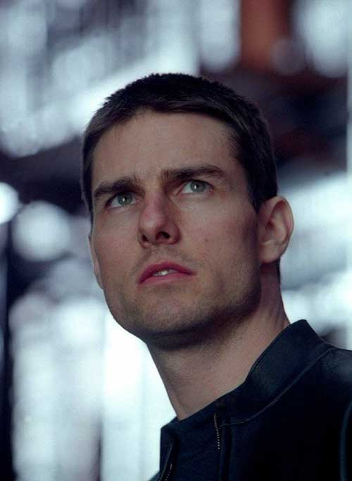 Tom Cruise Military Style Haircut
