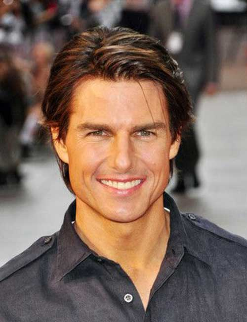 Tom Cruise Cool Short Hairstyles