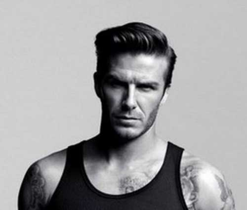 Trendy David Beckham Hairstyles