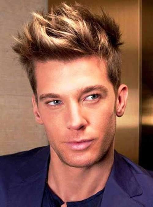 Trendy Hair Colour Idea for Men