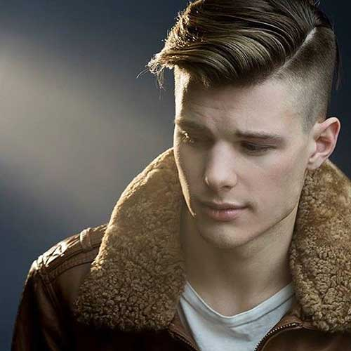 Trendy Layered Haircut Men