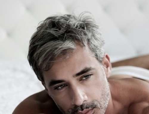 Trendy Men Short Gray Hairstyles