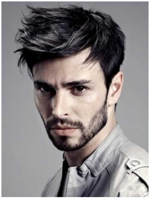 Trendy Men Straight Haircuts