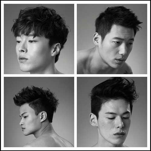 Trendy Men Undercut Haircuts
