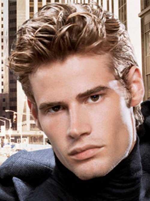 Trendy Men Wavy Hairstyles