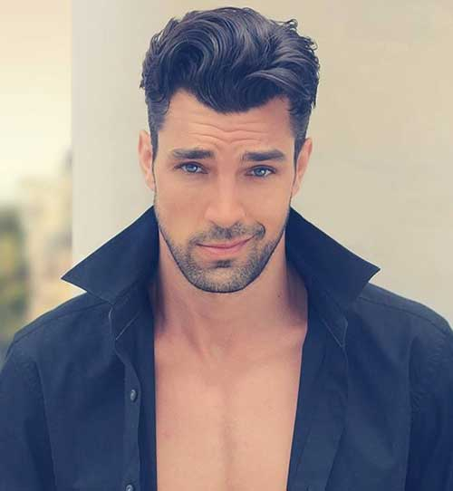 Trendy Men Wavy Hairstyles