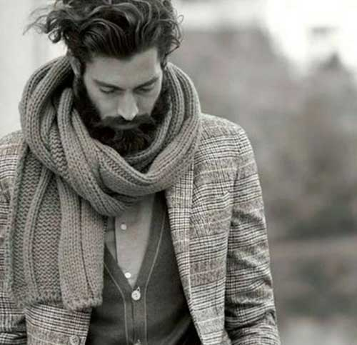 Trendy Mens Thick Hairstyles