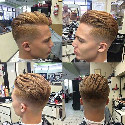 Trendy Razor Haircut for Men