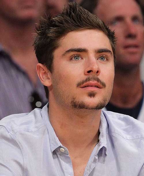 Stylish Zac Efron Facial Hair