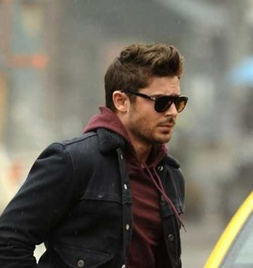 Zac Efron Fashionable Hairstyles 2014-2015