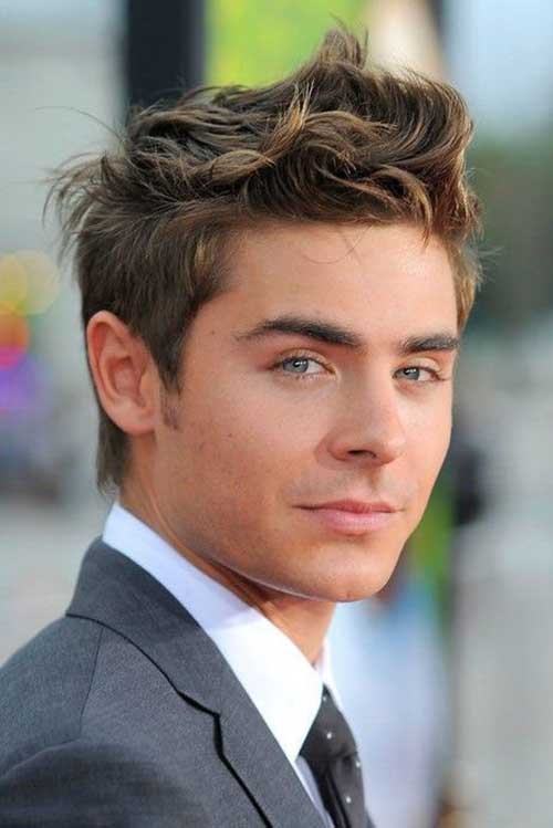 Zac Efron Messy Hair Cut