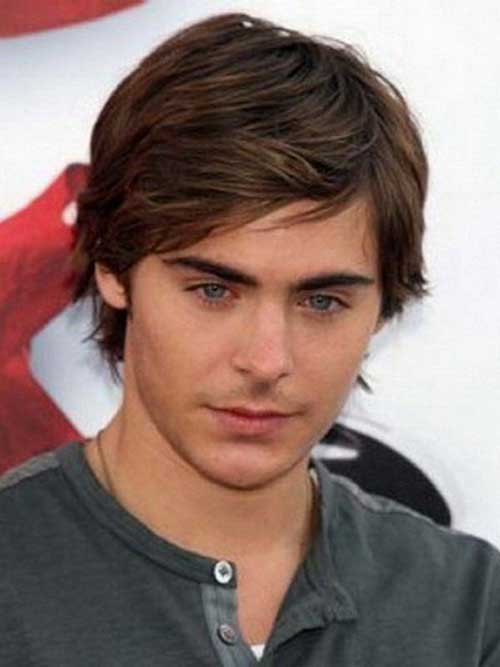 Zac Efron Medium Hair