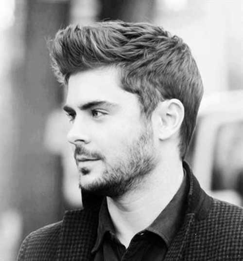 Zac Efron Short Hair Side View