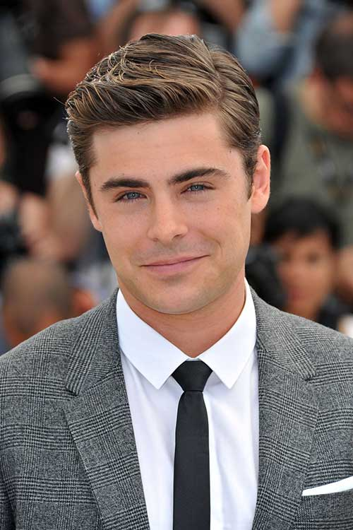 Men s hairstyles short zac efron