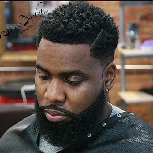 Black Men Fade Haircuts-10