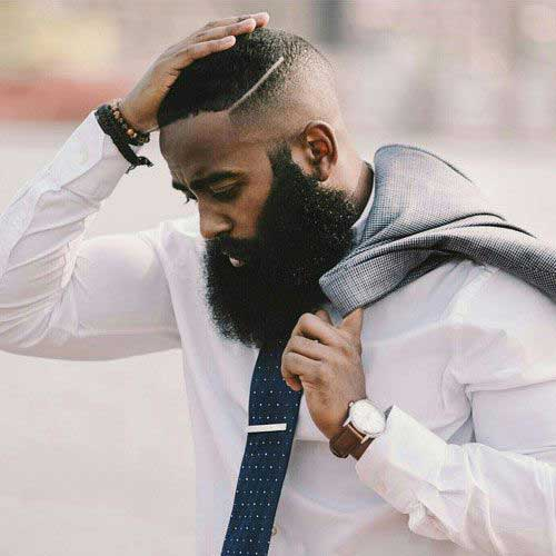 Black Men Fade Haircuts-12