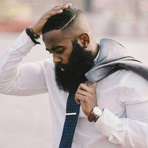 Black Men Fade Haircuts-12