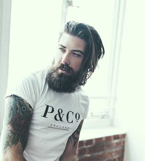 Hairstyles for Guys with Thick Hair-15