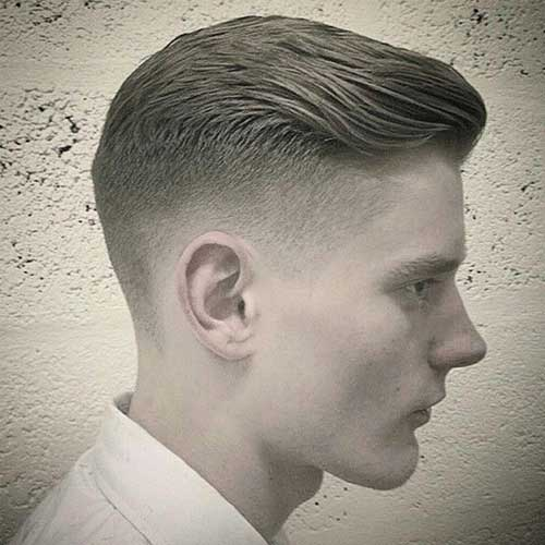2015 Faded Haircut for Men