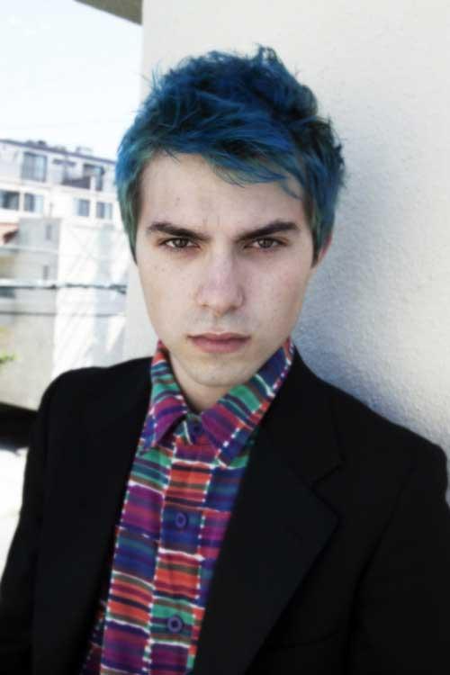 Blue Hair on Guys-9