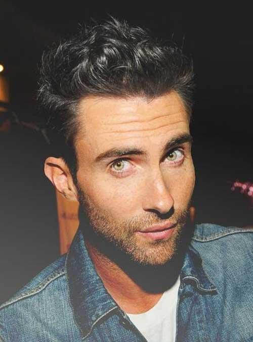 Adam Levine Cool Hair Style