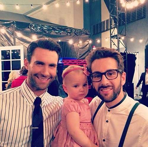 Classy Adam Levine Hair 2014