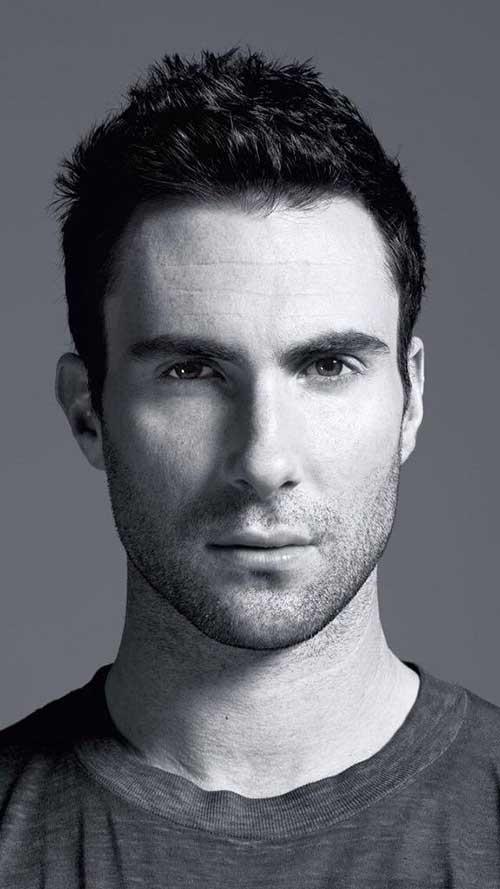 Adam Levine Nice Hair Style