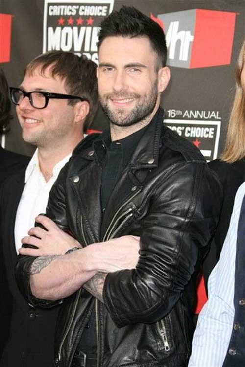 Adam Levine Hairstyle 2015