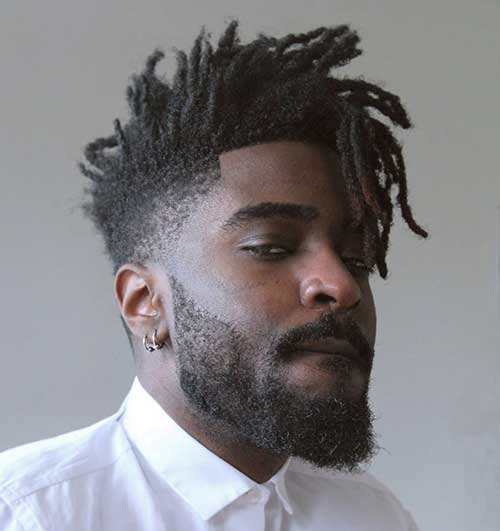 Stylish African American Haircuts Male