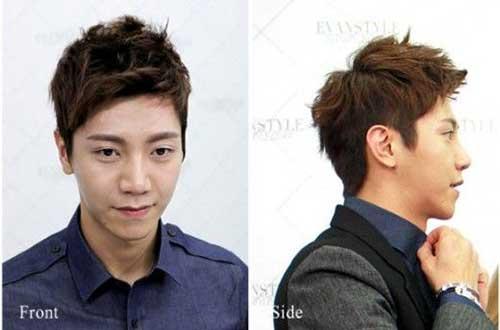 Asian Men Straight Short Hairstyles
