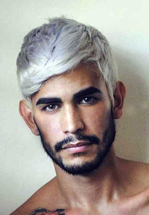 Best Mens Grey Hair Color Idea Pics
