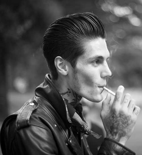 Best Mens Rockabilly Hairstyle 2015