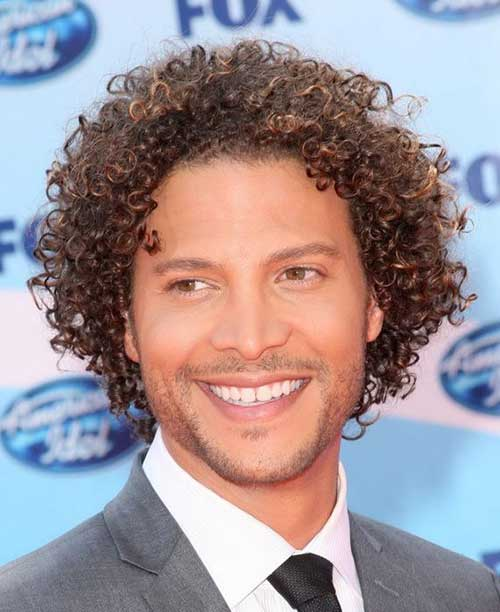 Black Men Casual Curly Hairstyles
