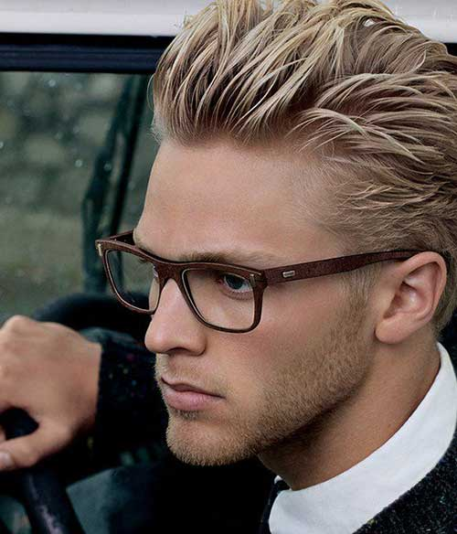 Blonde Male Hair Styles 41